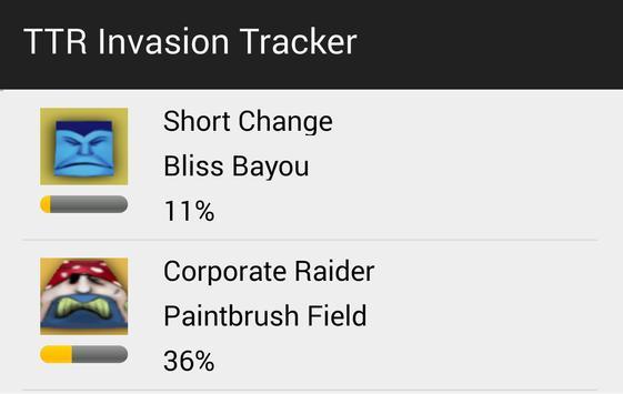 Andrews Invasion Tracker apk screenshot