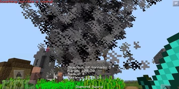 Tornado Mod For Minecraft poster