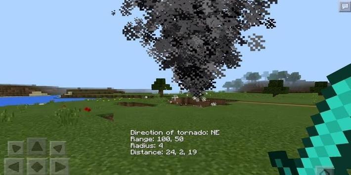 Tornado Mod For Minecraft apk screenshot