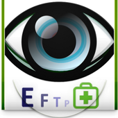 Eye exam icon