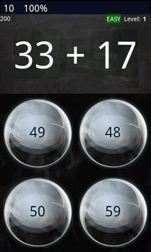 Math Workout - Game screenshot 2