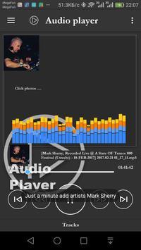 Audio video player screenshot 5