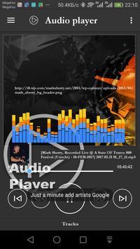 Audio video player screenshot 6