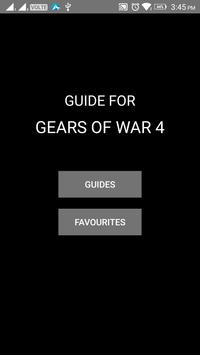 Guide for Gears of War 4 poster