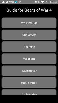 Guide for Gears of War 4 apk screenshot