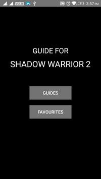 Guide for Shadow Warrior 2 poster