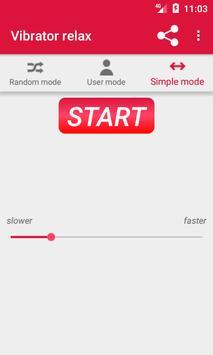 Strong vibrator - relax massager screenshot 1