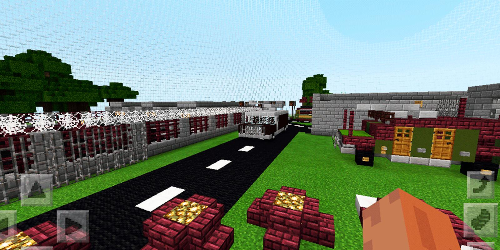 Hunger Games. Map for MCPE for Android - APK Download