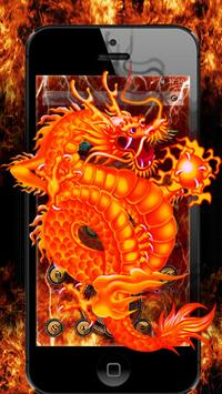 Dragon Anger Theme apk screenshot