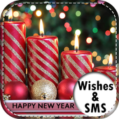 Happy New Year Wishes-SMS icon