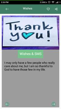 Thank You Wishes-SMS screenshot 1