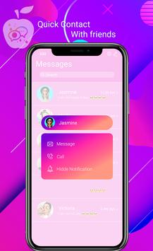 l Messenger SMS For l Phone screenshot 7
