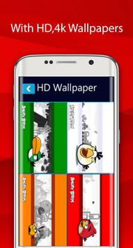 angry HD wallaper for bird screenshot 1