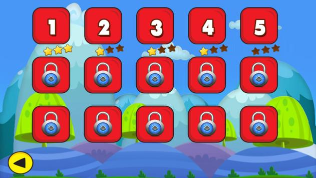Angry Chicken Super Knock Down Super hungry birds screenshot 3