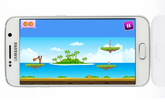 Angry Ball : skill game apk screenshot