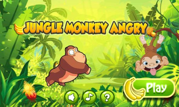 Jungle Monkey Angry poster