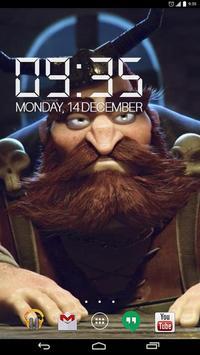 3D Angry Viking Live Wallpap screenshot 2