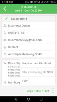 1 Schermata Bluetooth  & gloria food receipt print