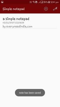 Simple Notepad - Password Protected screenshot 2