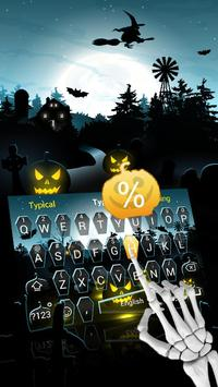 Animated Halloween poster