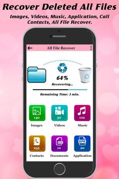 Recover Deleted All Files, Contact, Videos & Photo screenshot 5