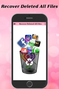 Recover Deleted All Files, Contact, Videos & Photo screenshot 1