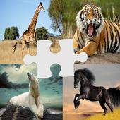 لعبة تركيب صور الحيوانات مراحل icon