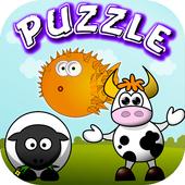Animals Puzzles Slide icon