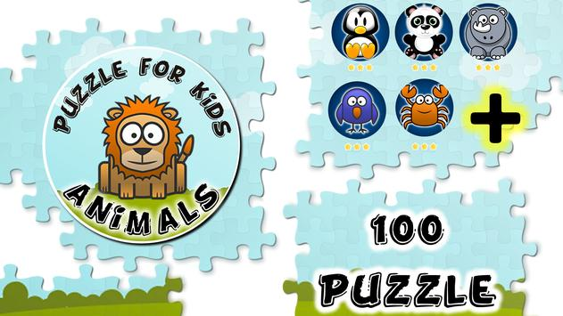 Animals Puzzles Slide poster