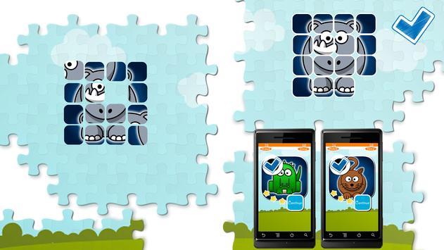 Animals Puzzles Slide apk screenshot