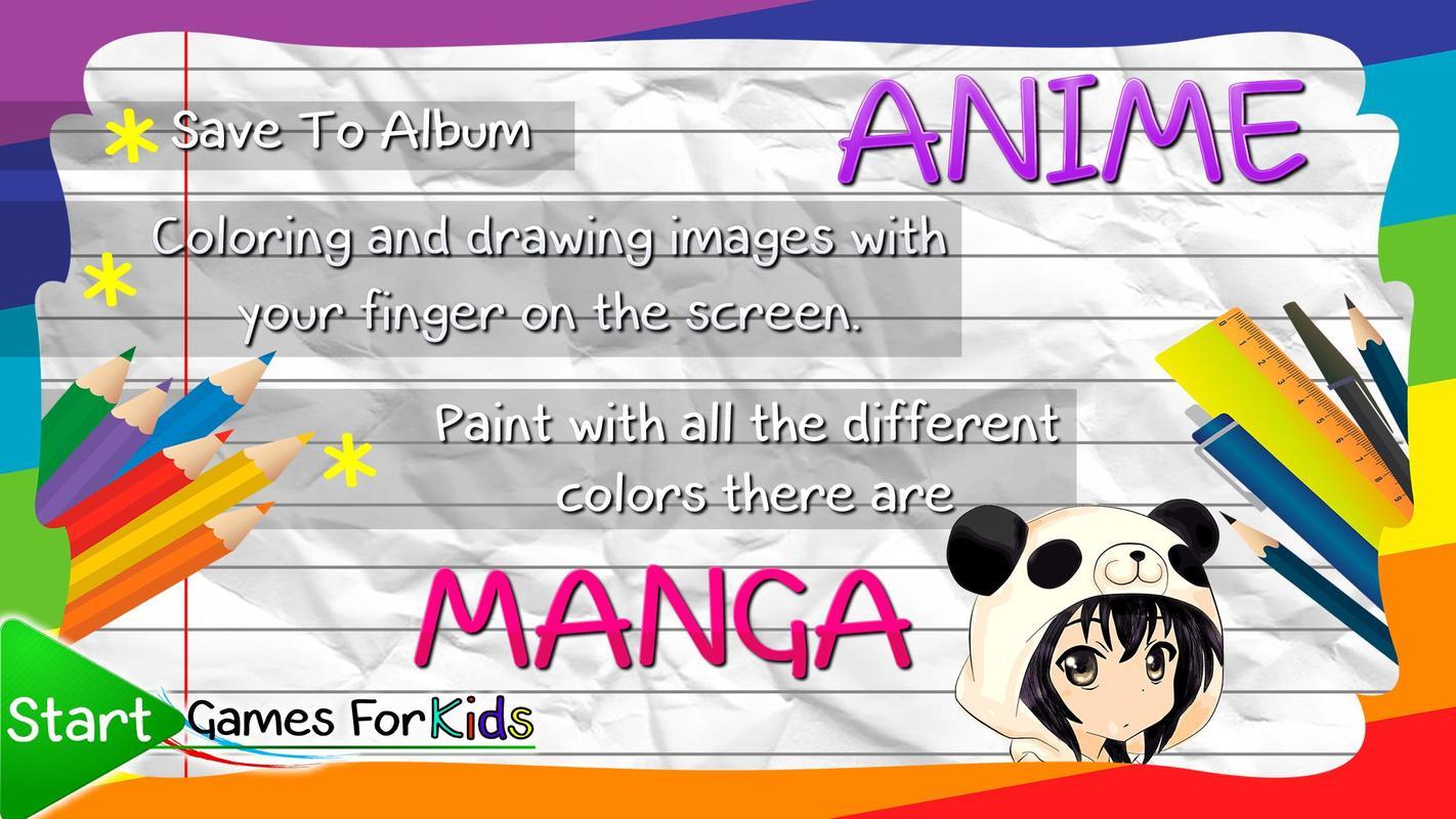 Cara menggambar anime manga screenshot 3