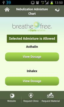 Breathefree App screenshot 1