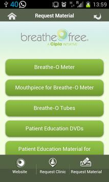 Breathefree App screenshot 7