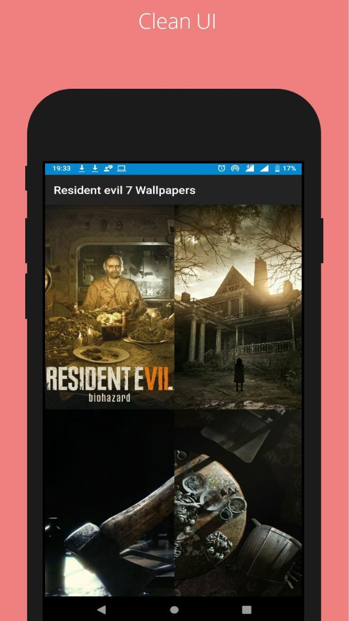 resident evil 7 wallpaper phone