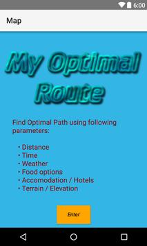 My Optimal Route poster