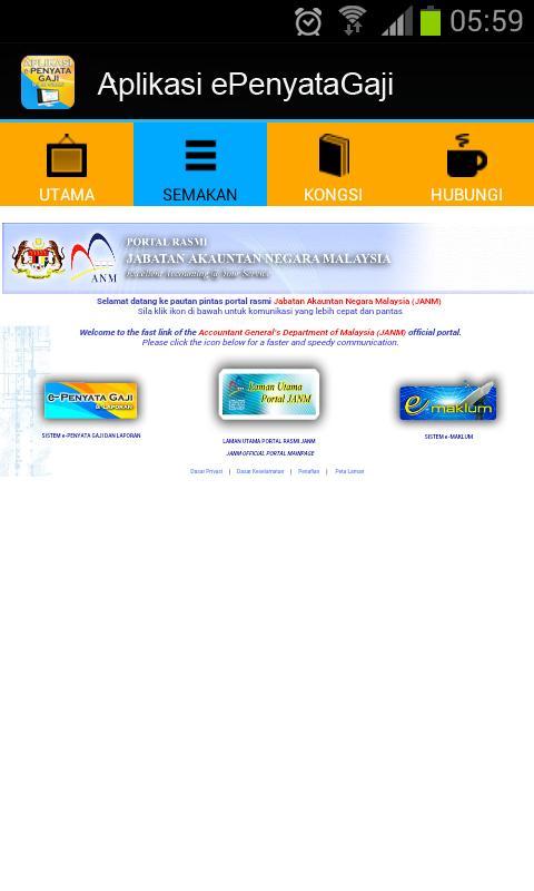 Epenyata Gaji Online Anm For Android Apk Download