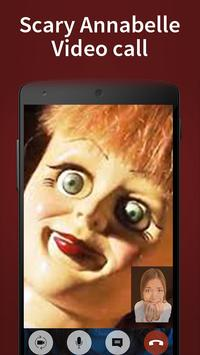 annabelle fake video call poster