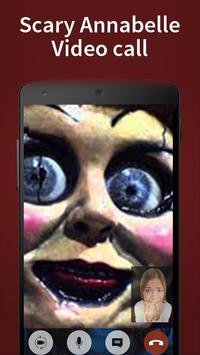 annabelle fake video call screenshot 2