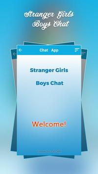 Stranger Girl Boy Chat screenshot 3
