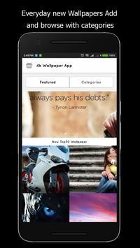 4K Wallpaper App poster