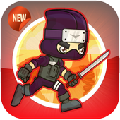 Ninja Run - adventure game icon
