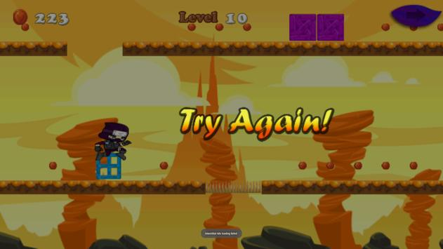 Ninja Run - adventure game apk screenshot