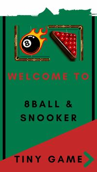 8 ball pool Pro -  Snooker & Billiards poster