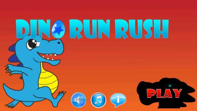 Dino Run Rush poster