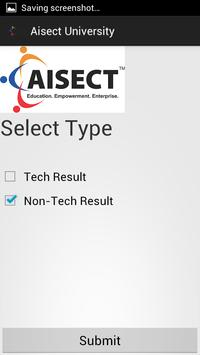 Aisect Result poster