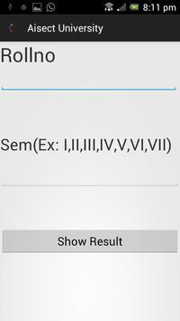 Aisect Result screenshot 1