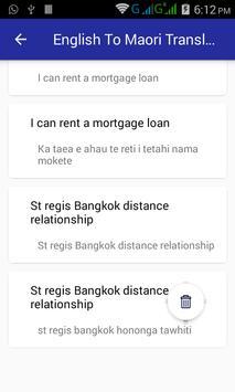 English Maori Translator screenshot 13