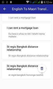 English Maori Translator screenshot 5