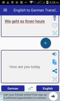 English German Translator screenshot 1