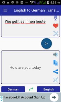 English German Translator screenshot 2